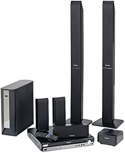 Panasonic SC-PT1050 Deluxe Home Theater System with 5-DVD Changer (Discontinued by Manufacturer)