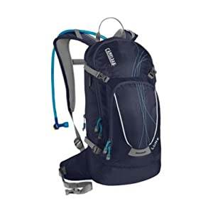 Camelbak Products Women's L.U.X.E. Hydration Backpack, 100-Ounce, Peacoat/Capri
