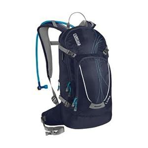 Camelbak Products Women's L.U.X.E. Hydration Backpack, 100-Ounce, Peacoat/Capri