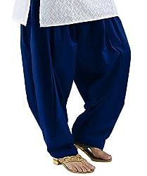 Neha Fashion Women's Regular Patiala Pant ( Navy Blue )
