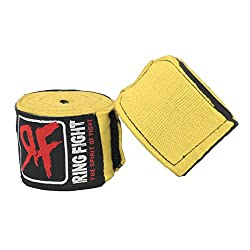 Ring Fight Yellow Hand Wrap180