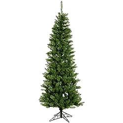 Vickerman 45' Unlit Salem Pencil Pine Artificial Christmas Tree