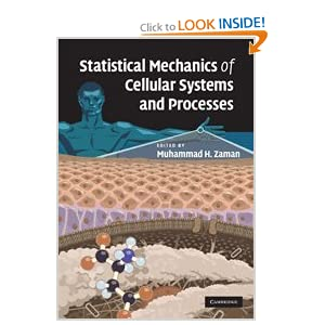 Statistical Mechanics of Cellular Systems.