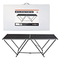 Milestone Camping Folding Table - Black, 2m from Milestone Camping