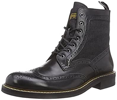 star trent brogue boot mix herren kurzschaft stiefel. Black Bedroom Furniture Sets. Home Design Ideas