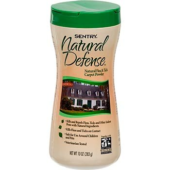 Natural Defense Natural Flea & Tick Carpet Powder