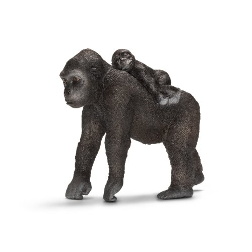 Gorille Femelle avec son bébé- 14662
