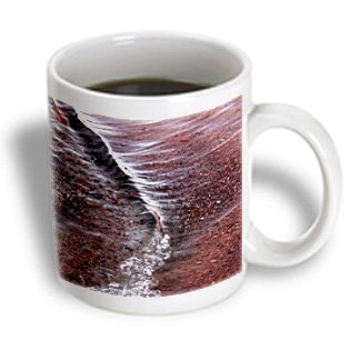 Nano Calvo Ibiza - Beautiful Red Wave And Small Pebbles On The Beach, Santa Eulalia Del Rio, Ibiza - 11Oz Mug (Mug_107648_1)