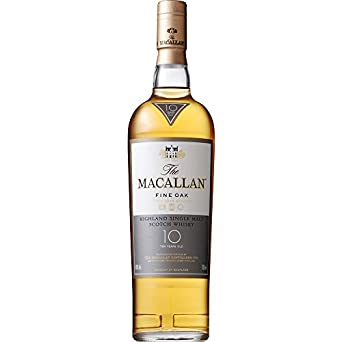 MACALLAN 10 Year Old Fine Oak Speyside Malt Whisky 70cl Bottle