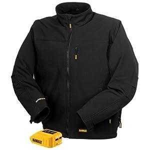 DEWALT DCHJ060B-S 20V/12V MAX Black Heated Jacket and Adaptor, Small
