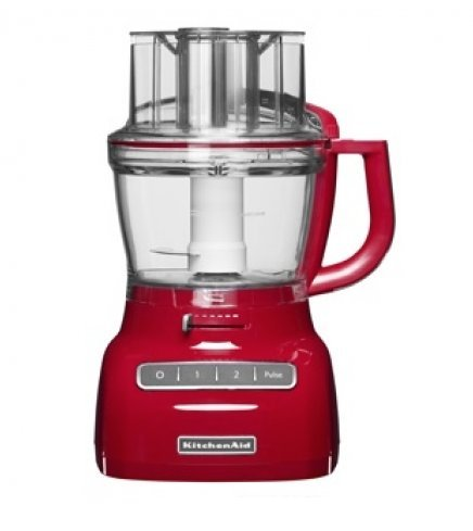 Kitchen Aid Artisan FP1335 Food Processor Empire Red- 220 Volts Only! Will Not Work In The USA