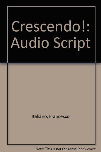 Crescendo!: Audio Script PDF