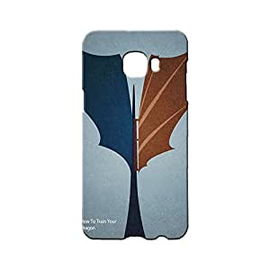 BLUEDIO Designer Printed Back case cover for Samsung Galaxy C7 - G2185