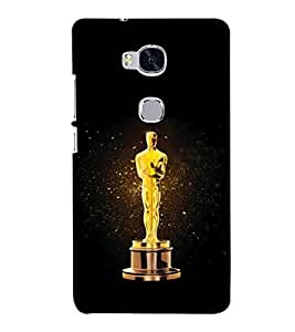 printtech Oscar Statue Back Case Cover for Huawei Honor 5X :: Huawei Honor X5 :: Huawei GR5