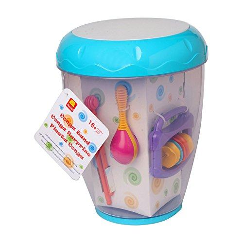 halilit ha 830 jouet musical conga surprise jouets instruments musicaux pour enfant. Black Bedroom Furniture Sets. Home Design Ideas