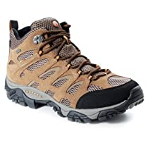 Big Sale Merrell Men's Moab Mid Waterproof Hiking Boot,Earth,11.5 W US