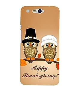 EPICCASE happy thanksgiving Mobile Back Case Cover For InFocus M812 (Designer Case)