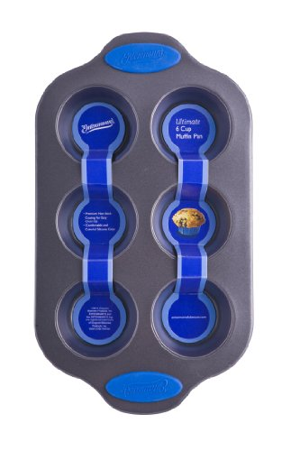 Entenmanns Bakeware ENT29010 Ultimate Muffin/Cupcake Pan, 6-Cup