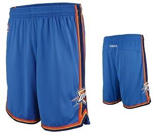 NBA Men's Oklahoma City Thunder Swingman Short (Blue, Large)