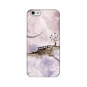 ArtzFolio Fantasy Landscape With Boat And Candle In The Sky : Apple iPhone 6 Matte Polycarbonate Original Branded Mobile Cell Phone Designer Hard Shockproof Protective Back Case Cover Protector