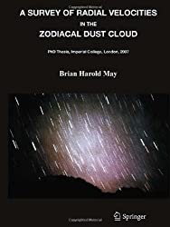 A Survey of Radial Velocities in the Zodiacal Dust Cloud