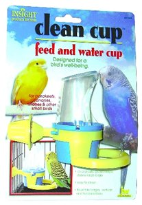 Brand New, JW Pet Company Insight Clean Cup Feed And Water Small Bird (Bird - Feeders / Crocks / Dishes)