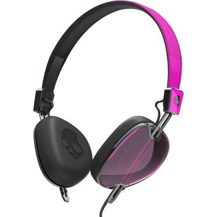 Skullcandy Navigator With Mic3 Lifestyle Wired Headphone - Hot Pink/Black