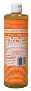 Castile Liquid Soap Organic-Tea Tree…