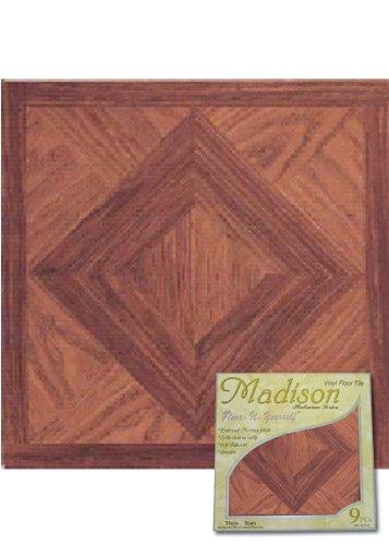 Floor Tiles Madison Vinyl Self Stick Floor Tile 2553 Home Dynamix