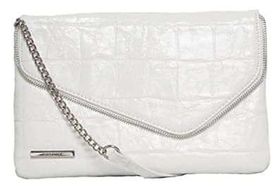 Nine West Telly Clutch (White)