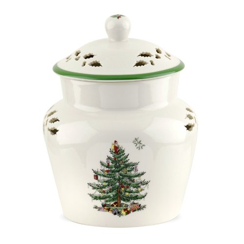 Spode Christmas Tree Ginger Jar