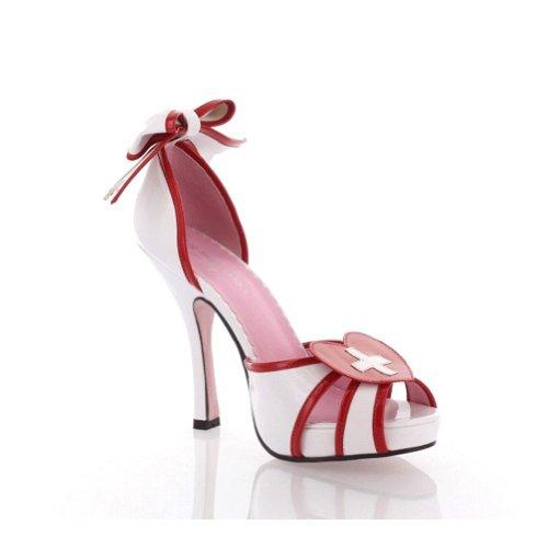 [LA453 Jackie Costume Shoes - Size 6] (Jackie Nurse Shoes)
