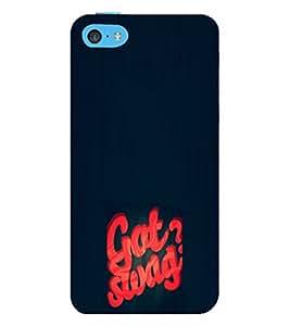 EPICCASE Got Swag? Mobile Back Case Cover For Apple iPhone 5c (Designer Case)