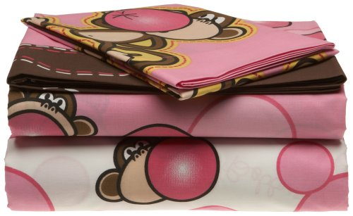 Bobby Jack Burst My Bubble 180-Thread-Count Twin Sheet Set