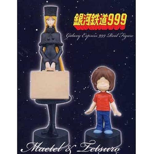 은하 철도999 애니메이션판 리얼 피규어 전2종 세트-