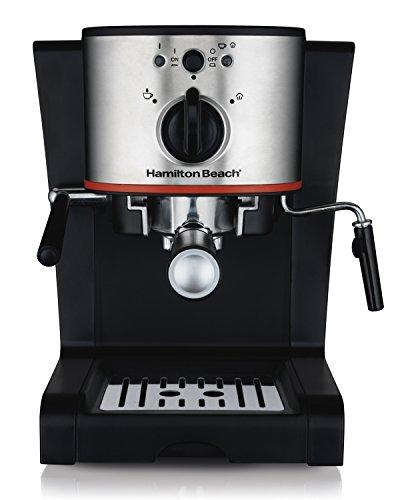 Hamilton Beach 40792 Espresso & Cappuccino Maker, Black