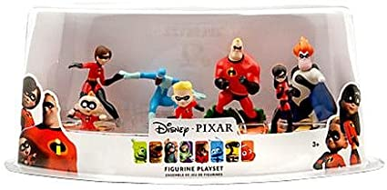 Officiel Disney l'indestructibles 7 Figurine Playset