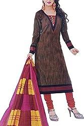 SFZ Fashion Women's Cotton Unstitched Dress Material_01_Multicolored_Freesize