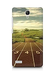 Amez designer printed 3d premium high quality back case cover for Xiaomi Redmi Note Prime (Abstract 11)