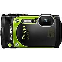 Olympus TG-870 16MP Full HD 1080p Wi-Fi Digital Camera with 5x Optical Zoom (Green)