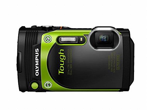 Olympus TG-870 Tough Waterproof Digital Camera (Green) (Olympus Waterproof Digital Camera compare prices)