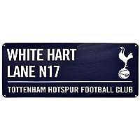 Tottenham Hotspur FC Official White Hart Lane Football Crest Street Sign by Tottenham Hotspur FC
