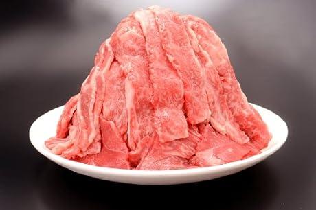 黒毛和牛 切り落とし 1kg 焼肉のたれ5袋(1袋30g)付き
