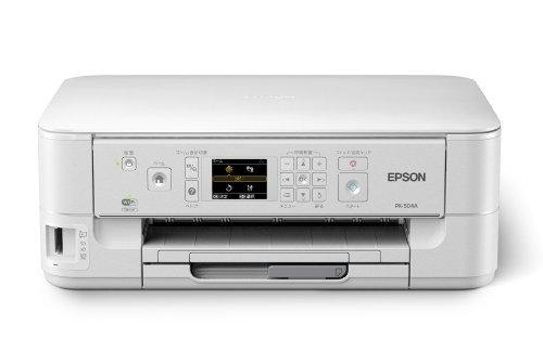 EPSON インクジェット複合機 PX-504A 有線・無線LAN標準対応 自動両面標準搭載 前面給紙カセット スマートフォンプリント対応 4色顔料インク