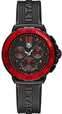 Tag Heuer Formula One Chronograph Black Dial Mens Watch CAU1117.FT6024