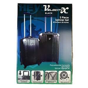"""HEYS Velocity X Luggage - 2 pc. set 22"""" & 26"""""""
