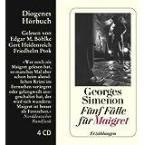 Fünf Fälle für Maigret: Erzählungen (Diogenes Hörbuch)