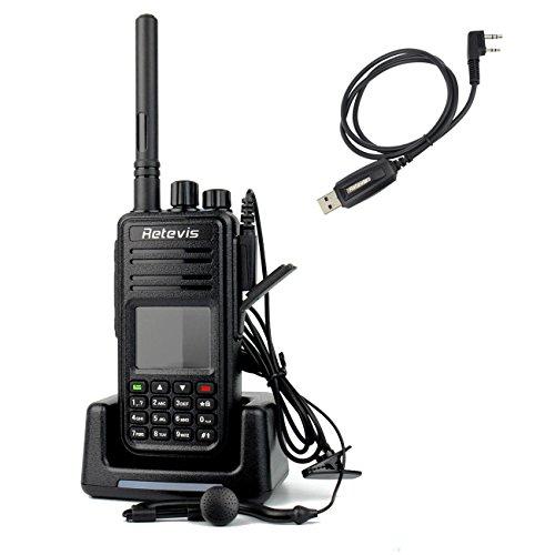 Retevis RT3 DMR Digitale Walkie Talkie VHF 136-174MHz 5W 1000CH Radio VOX Digitale Ricetrasmittente