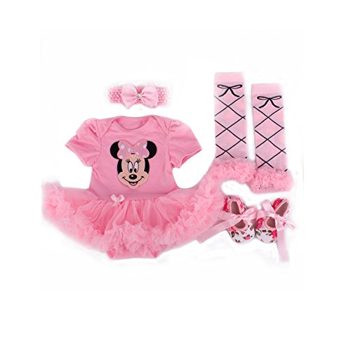 Lovely Baby-girl Minnie Mouse &Hot Summer Rompers Clothing Baby Clothes Outfits (0-3month)