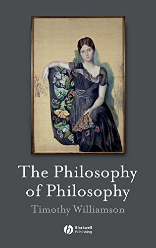 Philosophy of Philosophy (Blackwell/Brown Lectures in Philosophy)